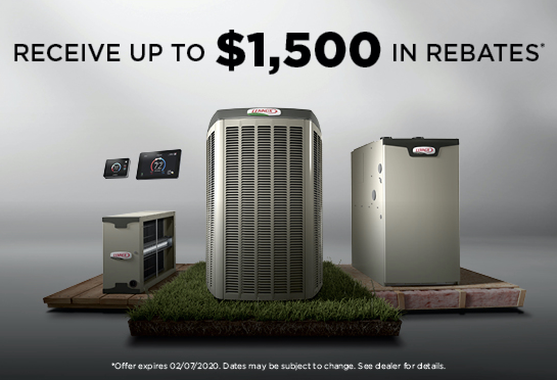 Receive up to $1500 in rebates!