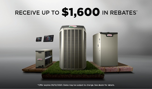 Receive up to $1600 in rebates!