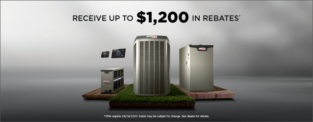 Receive up to $1200 in rebates!